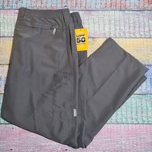 Field & Stream Gray Fishing Pants XXL Size 2X NWT